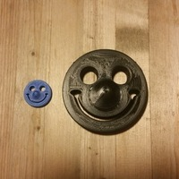 Small 3d Smiley 3D Printing 101838