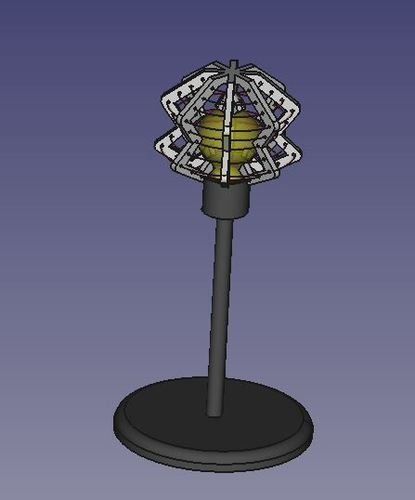 Dirty Deed Lamp Shade 3D Print 101890