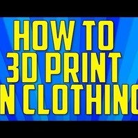 "Small SPAM! Logo from ""How To 3D Print on Clothing"" Episode 3D Printing 101914"