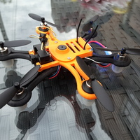 Small Hexacopter 125 / 110mm spracing f3 coreless 8.5x200mm 3D Printing 101933