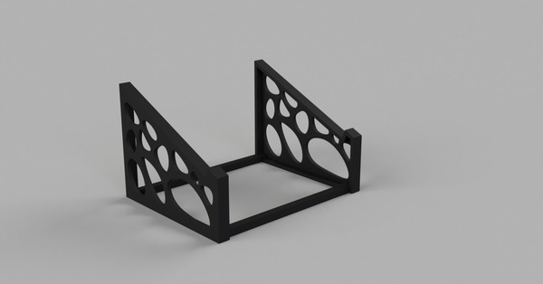 Medium Voronoi Laptop Stand 3D Printing 101942