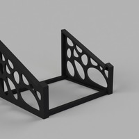Small Voronoi Laptop Stand 3D Printing 101942