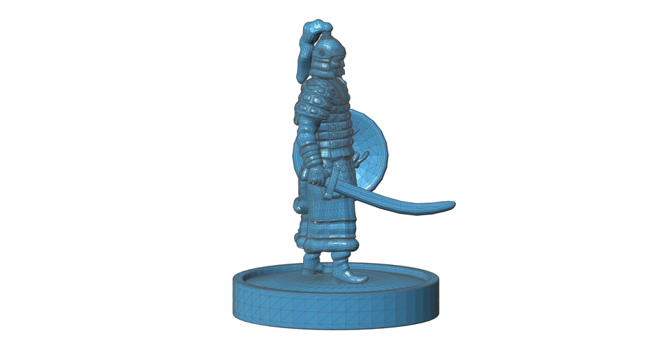Mongolian Warrior 3D Print 101969
