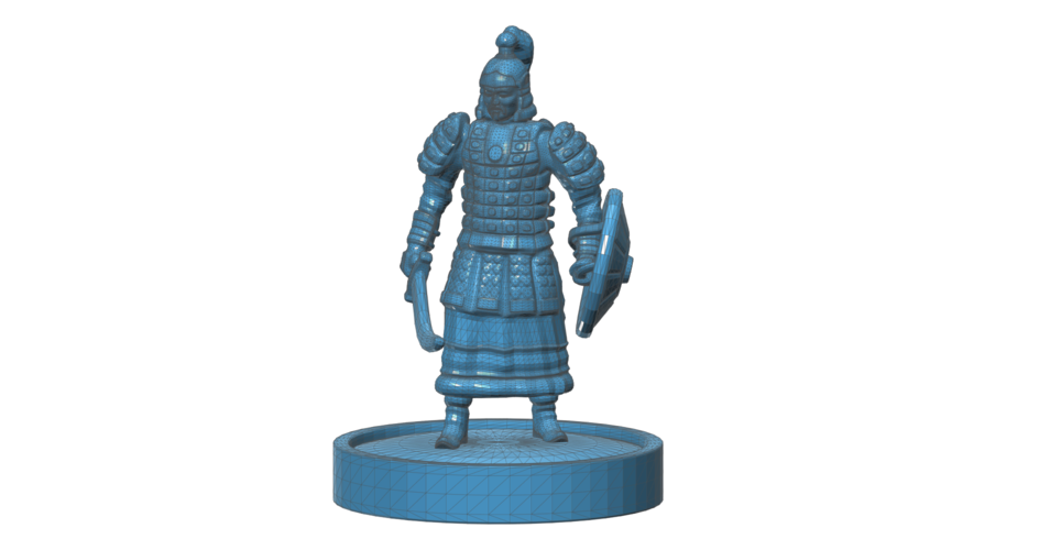 Mongolian Warrior 3D Print 101971