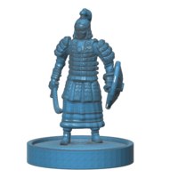 Small Mongolian Warrior 3D Printing 101971