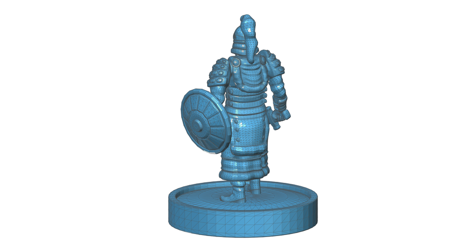 Mongolian Warrior 3D Print 101973