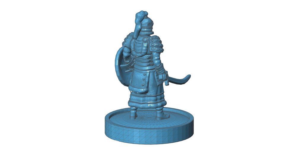 Mongolian Warrior 3D Print 101974