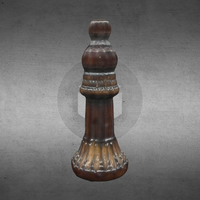 Small Chesspiece - bishop 3D Printing 102077