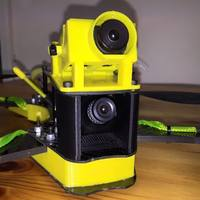 Small Thug 280\230 Mini Sony Camera adjustable mount  3D Printing 102126