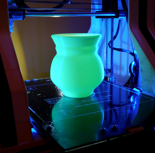 Green Glow UV Torchiere lamp 3D Print 102182