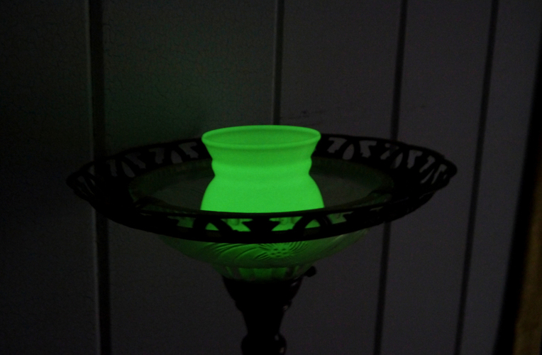 Green Glow UV Torchiere lamp 3D Print 102184