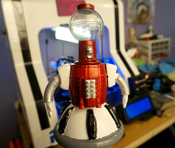 Tom Servo Figure 3D Print 102233