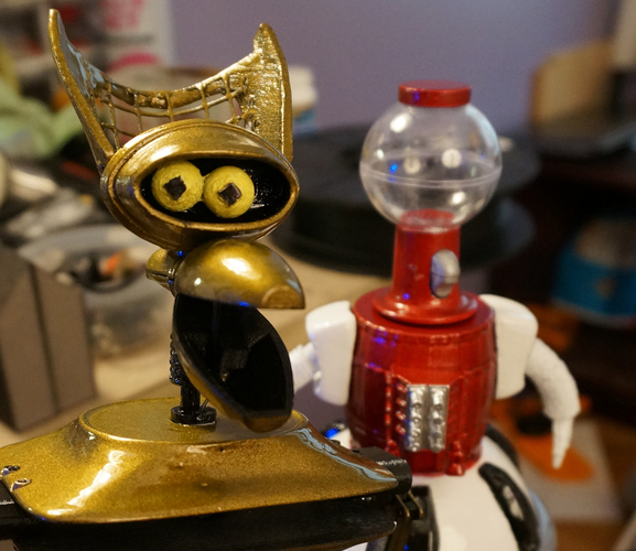 Tom Servo Figure 3D Print 102234