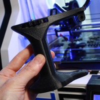 Small Handy Handheld Camera Mount 3D Printing 102263