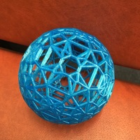 Small Hyperbolic polytope for d=-1409 3D Printing 102301
