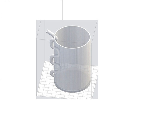 Straw-Glass for Clear  Resin Printers  3D Print 102373