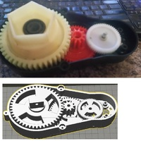 Small Powerful Robot Gearbox V2 3D Printing 102382