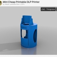 Small Mini Cheap Printable DLP Printer 3D Printing 102410