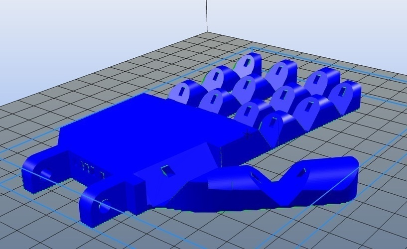 Easy Print Flexihand 15 x 10 cm For small Robot 3D Print 102412