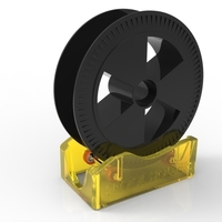Small Spool Holder 3D Printing 102512