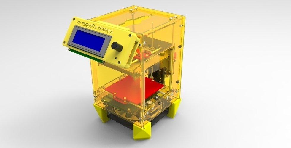 LCD Kit for Fabrikator Mini (Tinyboy) 3D Print 102515