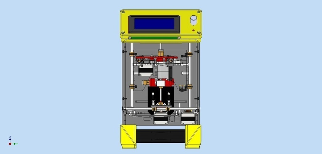 LCD Kit for Fabrikator Mini (Tinyboy) 3D Print 102516