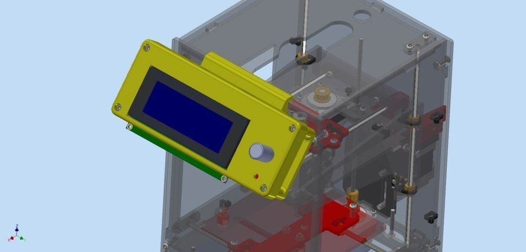 LCD Kit for Fabrikator Mini (Tinyboy) 3D Print 102518