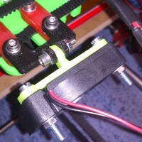 Small Fan duct Greg's Extruder J-Head V2.0 3D Printing 102546