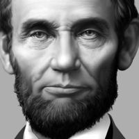 Small Lincoln Lithophane 3D Printing 102557