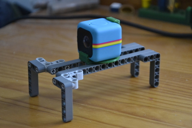 Polaroid cube lego technic adapter 3D Print 102642