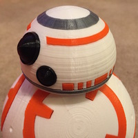 Small Force Awakens BB-8 3D Printing 102655