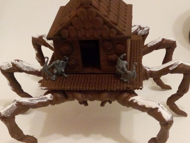 House Spider plattform for tabletop games 3D Print 102699