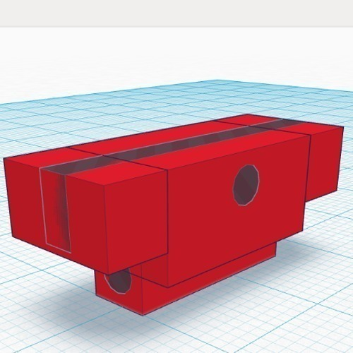 Lens / Scope Protector for Airsoft Rail Systems  3D Print 102701