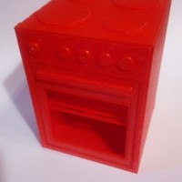 Small Toy oven 3D Printing 102720