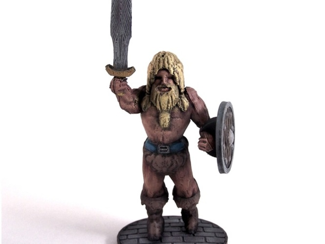 Volgarr the Viking 3D Print 1028