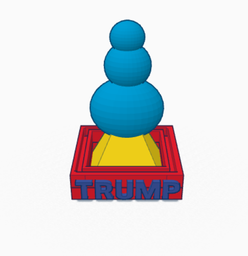 2k16 Trump Tower 3D Print 102830