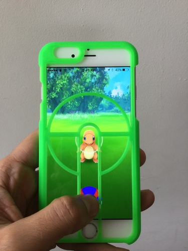 PokéSniper - iPhone 6/6S Case 3D Print 102853