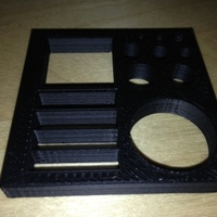 Small 50mm Calibration Slab for checking inside dimensions and thin wa 3D Printing 102906