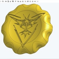 Small Team Instinct Badge/Coin 3D Printing 102951