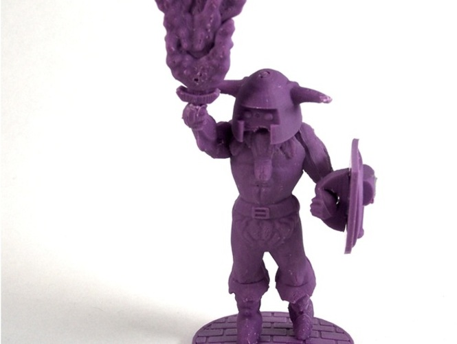Volgarr the Viking 3D Print 1030