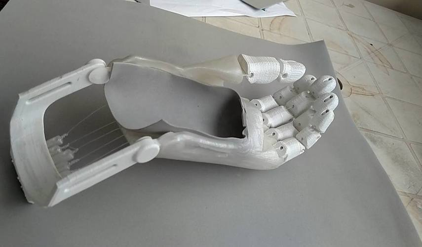 Flexy hand remix 3D Print 103015
