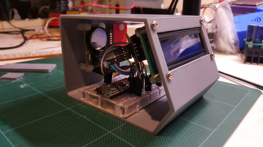 3D Printed Arduino Clock by goy_goo | Pinshape