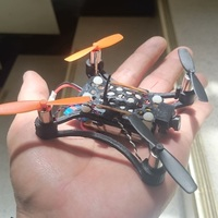 "Small Micro Quad ""Panter"" 3D Printing 103063"