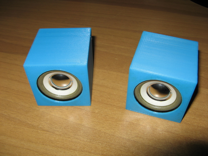 Mini audio system with speakers 3D Print 103073