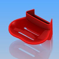 Small Multifunction soap dish 3D Printing 103092
