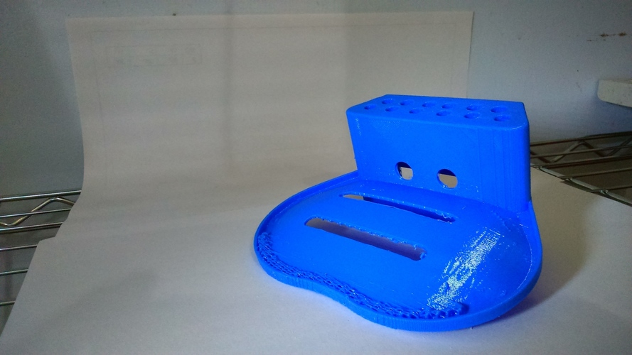 Multifunction soap dish 3D Print 103094