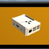 Small Case Raspberry Pi B 2 3D Printing 103122