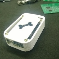Small Case BeagleBone Black Rev.C 3D Printing 103125