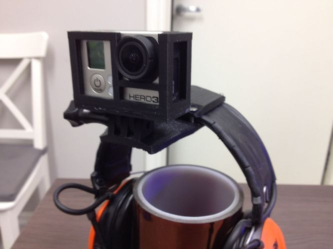 GoPro Headmount for headgear 3D Print 103195