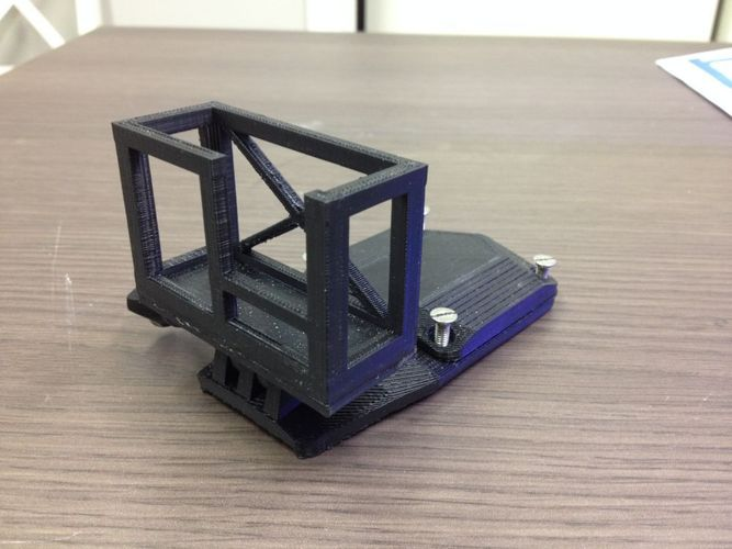 GoPro Headmount for headgear 3D Print 103197
